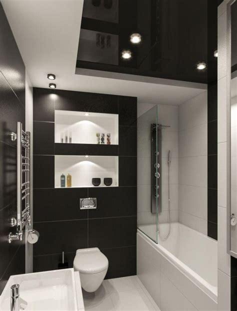 badezimmer ideen kleines badezimmer fliesen ideen schwarz weiss kombination