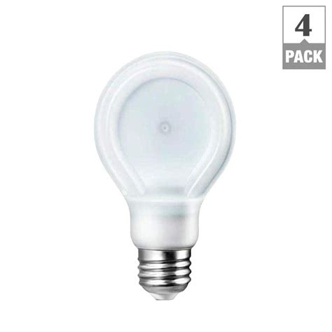 Soft White Led Light Bulbs Philips Slimstyle 40w Equivalent Soft White 2700k A19 Dimmable Led Light Bulbs 4 Pack 433201