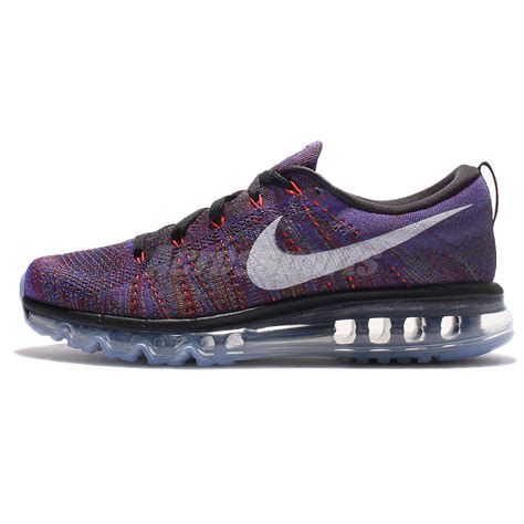 Nike Flyknite Max Made In nike flyknit max black purple running shoes sneakers
