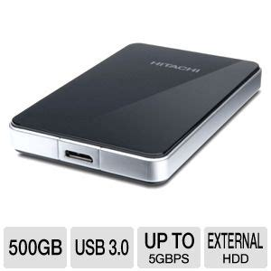 External Hardisk 500gb Hitachi hitachi 0s03105 touro mobile pro 2 5 external drive 500gb usb 3 0 up to 5 gbps 7200