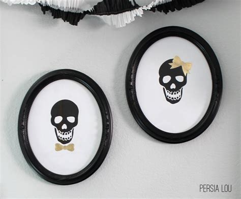 free printable halloween wall decorations halloween skulls printable wall art printable decor