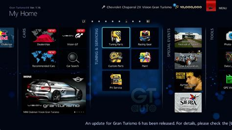 Gran Turismo 6 Auto Tuning by Shop List Tuning Servicing Gran Turismo 174 6 Manual