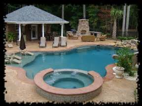Backyard Pools And Spas Swimming Pool Designs In Raleigh 10 Years Experience