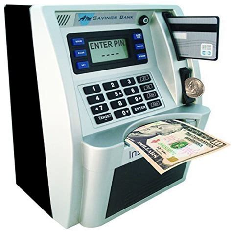 atm bank gift personal atm coin money savings bank