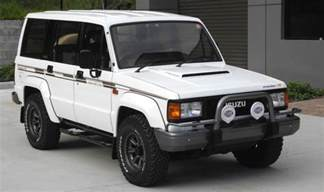 Diesel Isuzu Trooper For 33 000 Does This 1989 Isuzu Trooper Bighorn Irmscher
