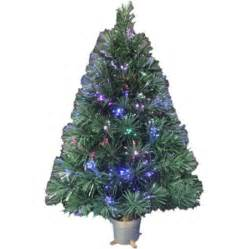 holiday time pre lit 2 5 fiber optic artificial christmas