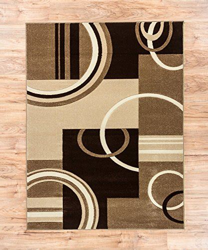 contemporary brown beige circle patterned blackout echo shapes circles ivory beige brown modern geometric