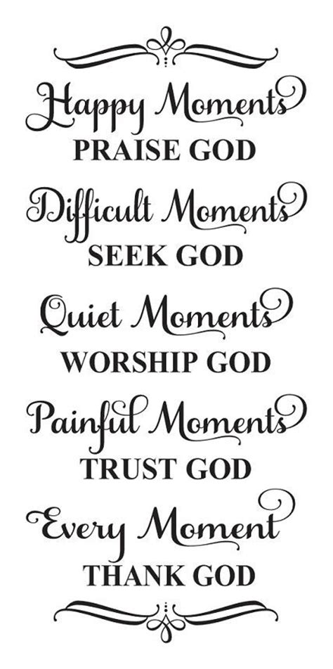 printable quotes about god inspirational stencil happy moments praise god bible