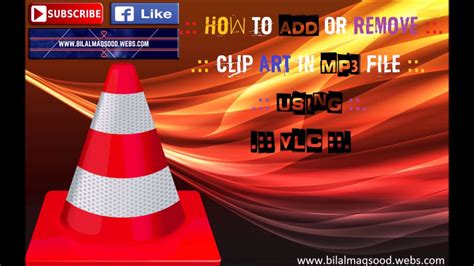 remove details of mp3 using vlc youtube how to add or remove clip art picture of mp3 file using