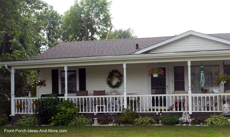 How To Add A Porch To Your House ranch home porches add appeal and comfort