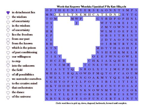 section of a play crossword clue 17 best images about mindful word search puzzles on