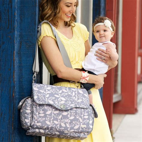 Ransel Fashion Colour Jj jj cole bag in ash woodland at babycubby click on the picture to see this style in
