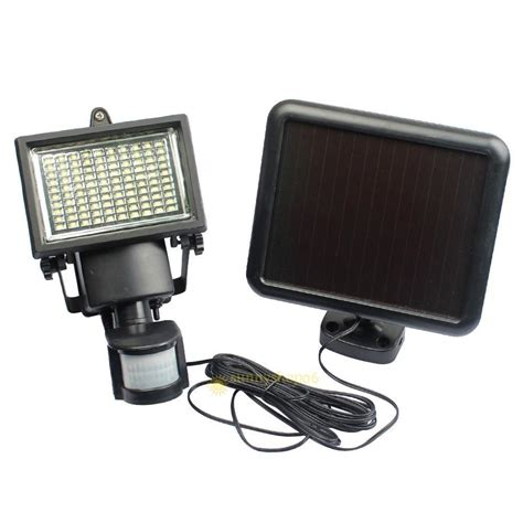 Solar Powered Pir Light 1000lm 100 Led Solar Powered Pir Motion Sensor Security