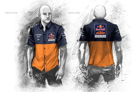 Ktm Race Wear Ktm Team Apparel Design Eyenovation Multimedia