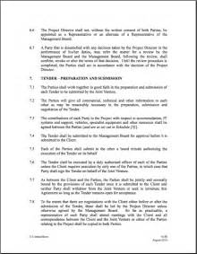 Boat Partnership Agreement Template by Joint Venture Agreement Form