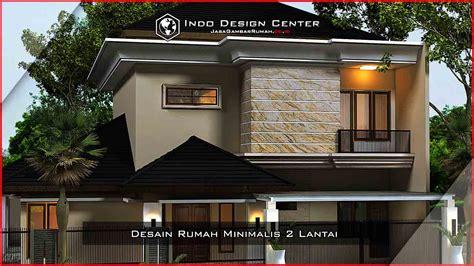 desain rumah lantai 2 68 desain rumah minimalis 2 lantai dan biaya desain