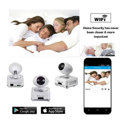 wifi wireless home security intruder alarm system with hd