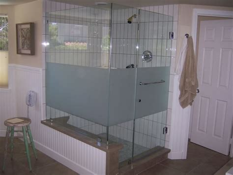 Frosted Shower Glass On Pinterest Frosted Glass Shower Frosted Shower Glass Doors