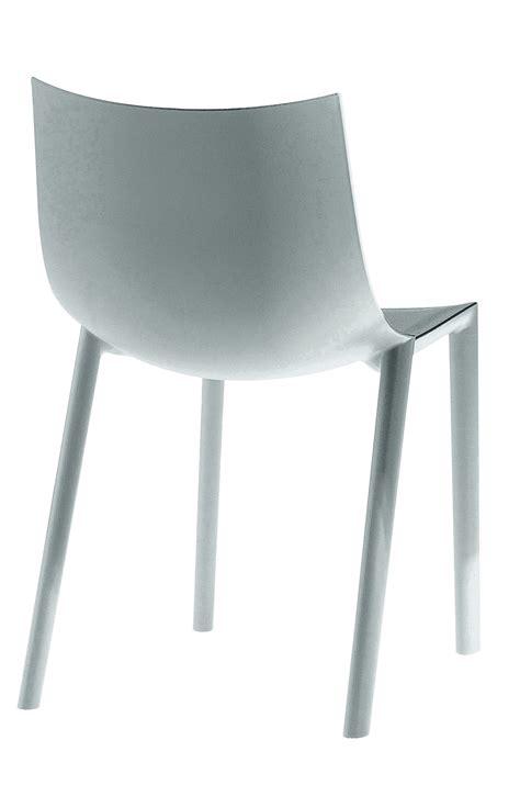 chaise bo de driade gris