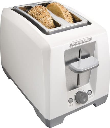 Best Place To Buy A Toaster Proctor Silex 2 Slice Bagel Toaster White 22333 Best Buy