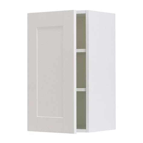 ikea wall cabinets akurum wall cabinet birch effect 196 del off white 12x30