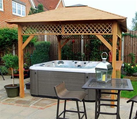 hot tub awnings 17 best images about garden gazebos on pinterest gardens