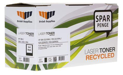 Hp 39a Black Original Laserjet Toner Cartridge product data mm black laser toner hp 38a q1338a 39a