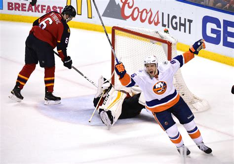 Eastern Reporter Second Series Bluebook by Islanders Power Play Goal Sinks Panthers In 2ot Orlando Sentinel