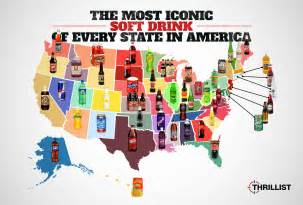 How Many Californias Were Made The Iconic Soft Drink Of Every State In America Huffpost