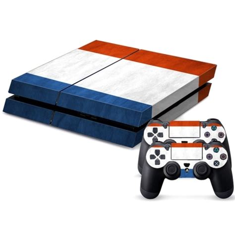 Ps4 Games Sticker by French Flag Pattern Decal Stickers For Ps4 Game Console