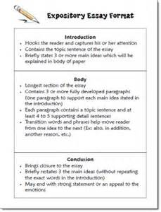 expository essay template expository essay format freebie in candler s writing