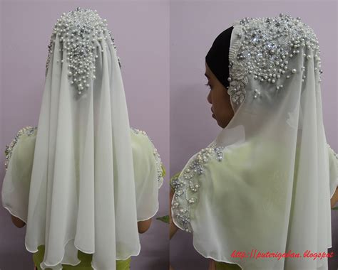 manisnye diary wedding 2 baju akad nikah dan sanding diy sanding untuk veil diy sanding untuk veil nursaila