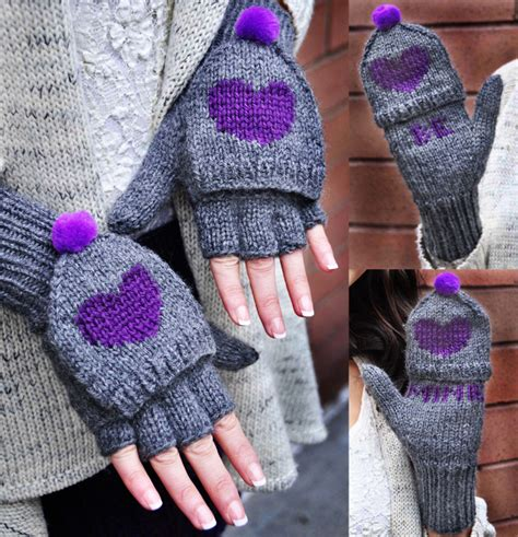 knitted gloves pattern new girly knits s day knitting pattern