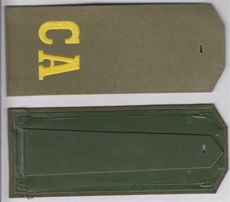Fields Of Green Original Board soviet army soldier field shoulder board green with ca