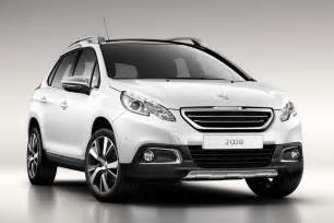 Suv Peugeot 2008 Ford Ecosport Rival Peugeot 2008 Suv Revealed Officially