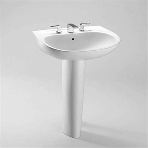 toto drake pedestal sink toto lpt242 8g prominence pedestal bathroom sink sink with