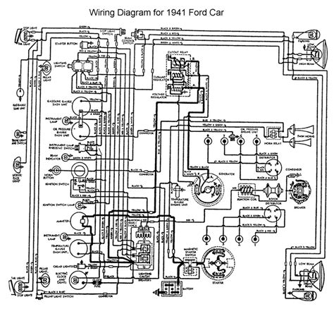 1946 ford generator wiring diagram get free image about