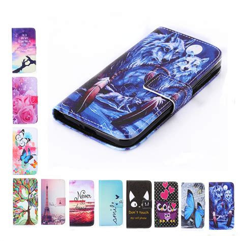 New Oddy Flip Cover Samsung Galaxy A5 Promo new wallet style painting cover flip leather for samsung galaxy a3 a5 a7 2017 s3 s4 s5