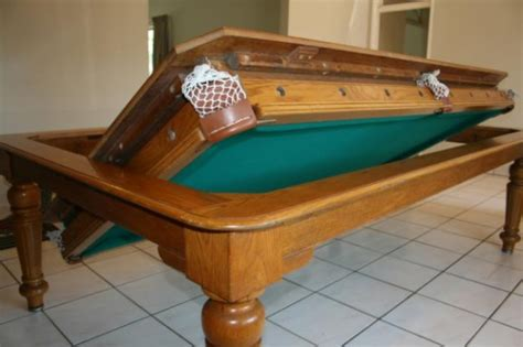 Dining Table And Pool Table Cool Idea Especially For A Formal Dining Room You Don T Use Often Something Along These