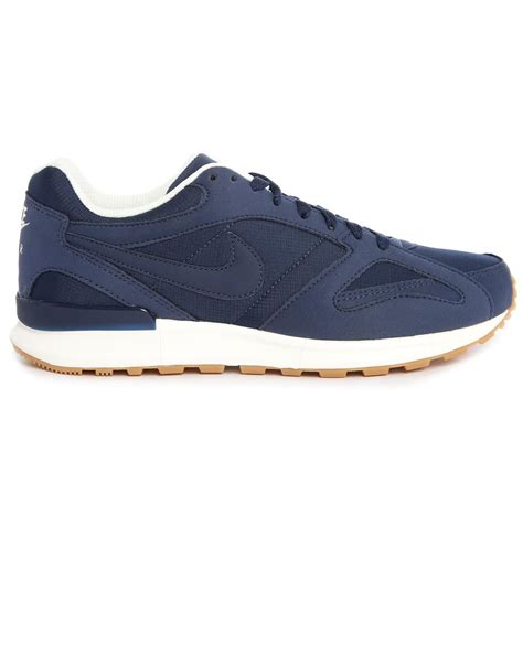 nike sneakers nike pegasus new racer navy suede sneakers in blue