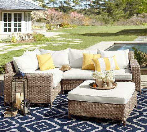 pottery barn outdoor sectional pottery barn outdoor furniture 60 off sale furniture