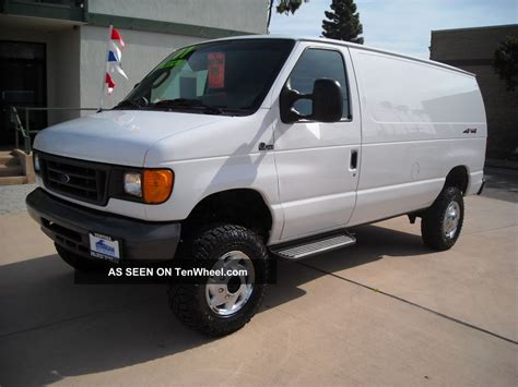 van ford 4x4 cargo van for sale images