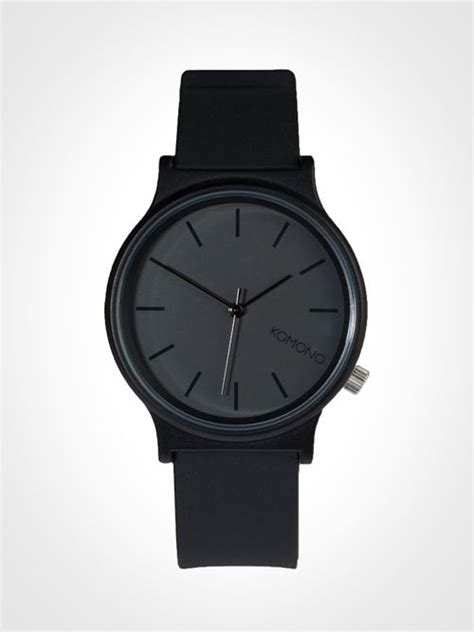 78 best ideas about all black watches on black