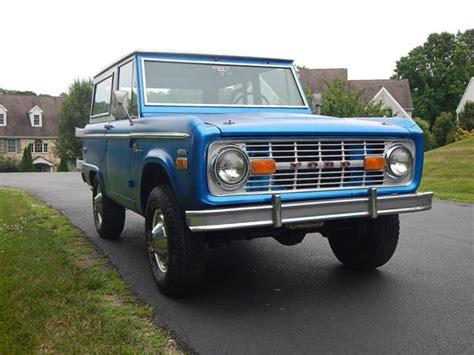 ford bronco hardtop 1970 ford bronco sport model hardtop