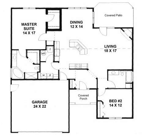 small casita floor plans 2000 house plans on plan 1658