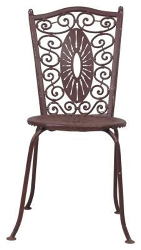Removing Paint From Metal Furniture by How To Remove Rust Paint From Outdoor Iron Chairs
