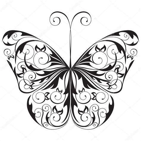 imagenes blanco y negro de mariposas mariposa blanco y negro vector de stock 169 mart m 60033339