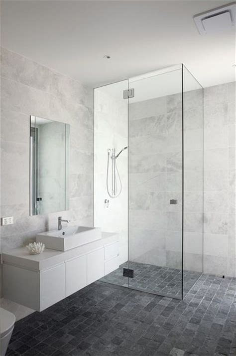 white and gray marble bathrooms bathroom white grey marble look wall tiles grey