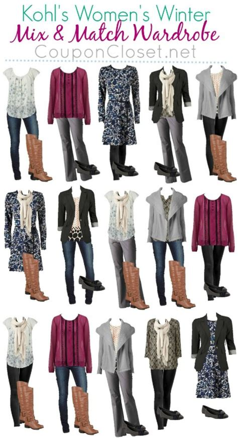 How To Build A Wardrobe On A Budget by Kohls Winter Wardrobe On A Budget 13 Pieces 15