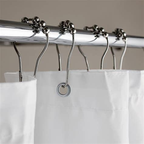 roller curtain hooks home bath shower curtains bath accessories